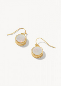 Naia Petite Earrings Pearlescent