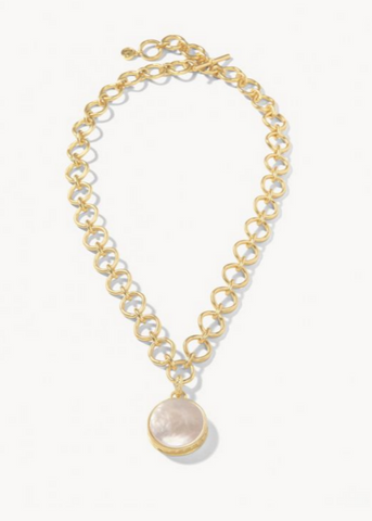 Naia Chunky Necklace Pearlescent