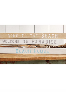 BEACH HOUSE SENTIMENT STICK