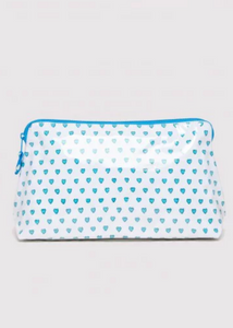 HEARTS MAKE UP BAG - Assorted Colors