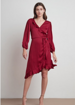 Load image into Gallery viewer, ALENA- WRAP DRESS