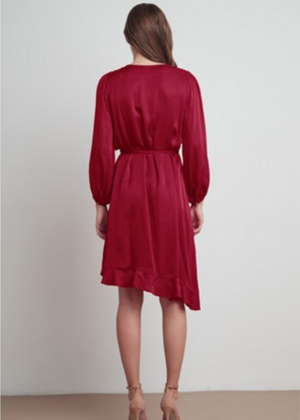 ALENA- WRAP DRESS