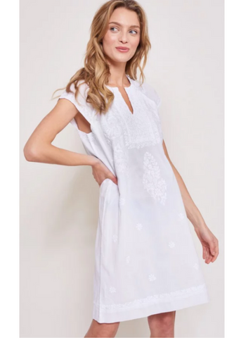White Faith Dress