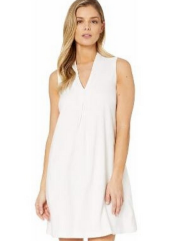 Daphne Shift Dress - White