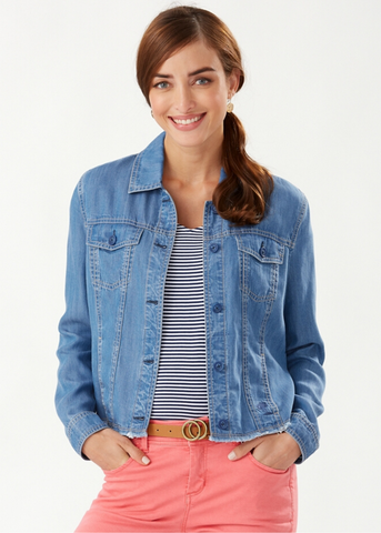 Chambray O'lei Jacket