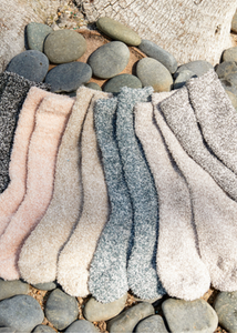 COZYCHIC HEATHERED SOCKS - Assorted Colors