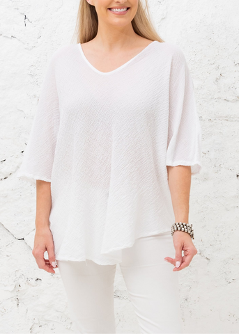 Andrea Top- White