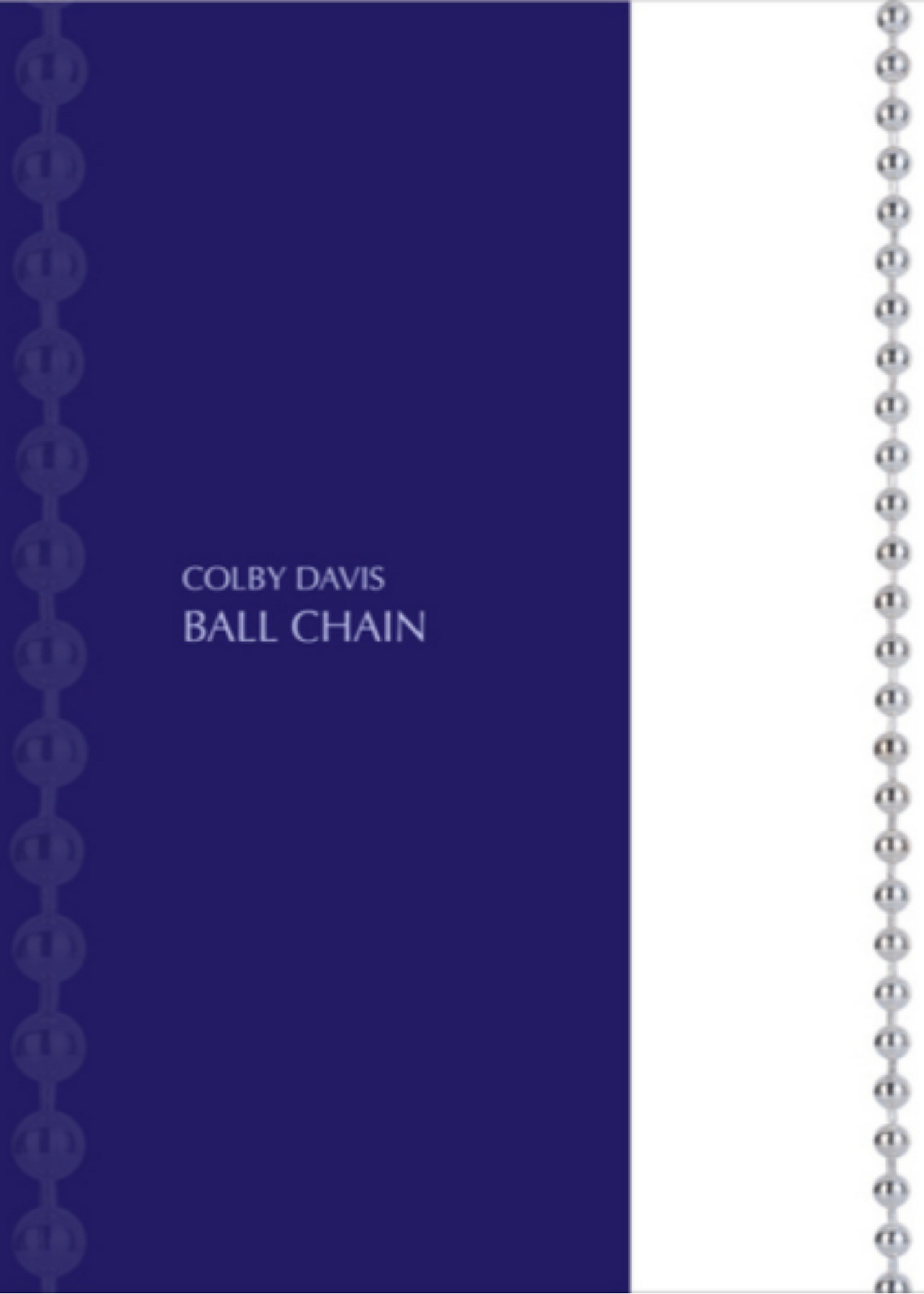 Colby Davis Chain: Ball
