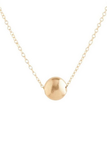 Necklace Gold - Honesty Small Gold 16""