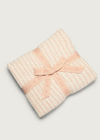 Copy of CozyChic® Beach House Blanket - Pink Sand/Cream