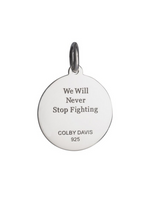 Load image into Gallery viewer, Copy of Colby Davis Pendant: Cancer Ribbon
