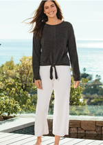 Load image into Gallery viewer, CozyChic Ultra Lite Culotte - Sea Salt