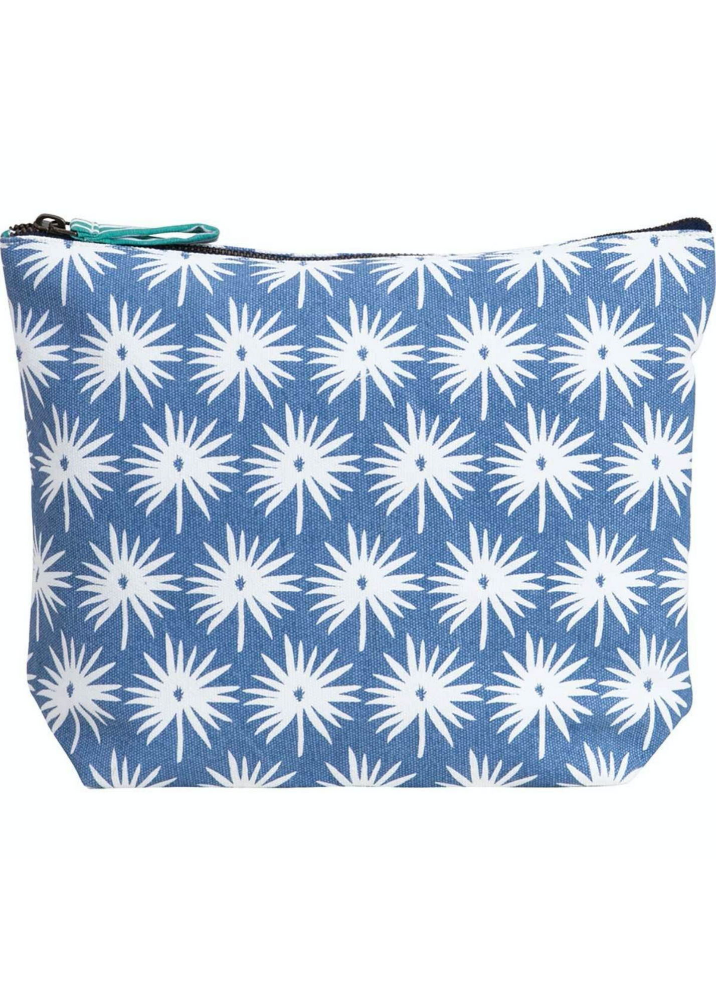 Palmetto Blue Relaxed Pouch - Large