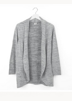 Load image into Gallery viewer, HELLO MELLO PERENNIAL CARDIGAN- GRAY