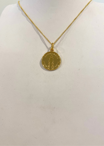 Colby Davis Pendant: GOLD Marblehead Lighthouse