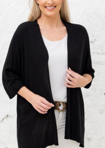 Carri Cardigan- Black
