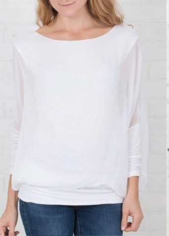 Cassandra Top- White