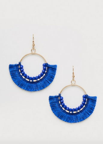 Lorelli Earrings - Cobalt