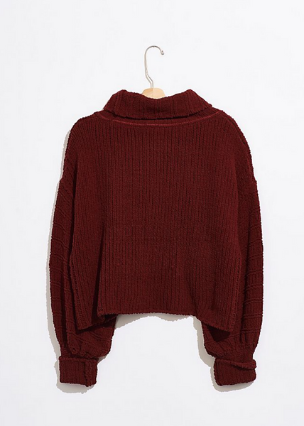 Be Yours Pullover - Sweet Cranberry