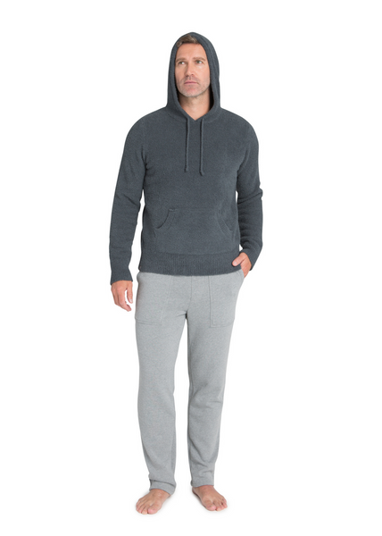 Cozychic Men's Pullover Hoodie - Slate Blue
