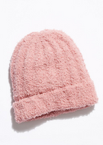 Load image into Gallery viewer, Cloud Rib Beanie - Blush