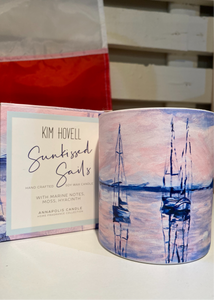 8 oz Boxed Candle - Sunkissed Sails