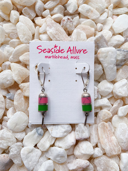 Lobster Buoy Earrings