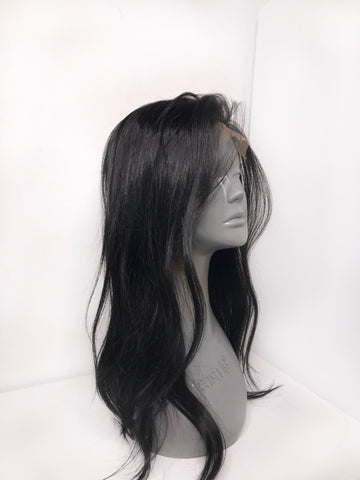 Midnight 4x4 Closure Wig