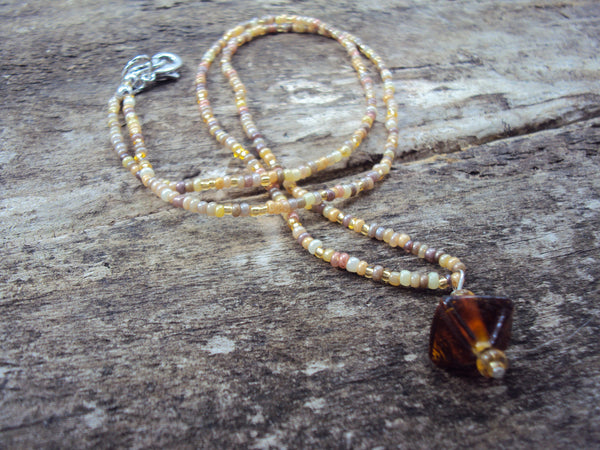 Bohemian Desert Necklace