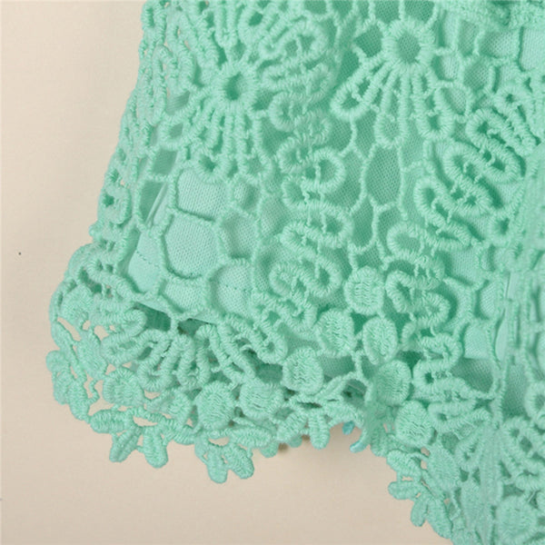 Lace  shorts - Knits and Mitts - 5