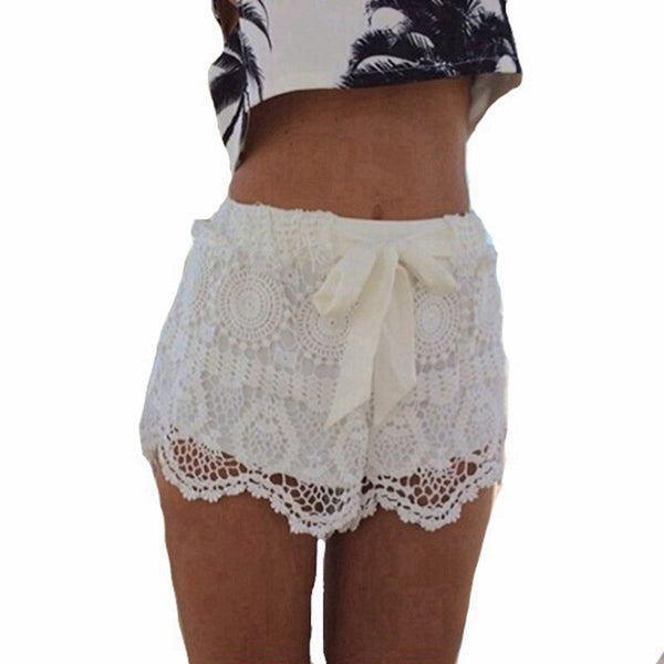 Lace  shorts - Knits and Mitts - 3