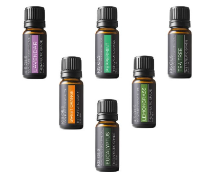 Scented Oils 6 pack sample