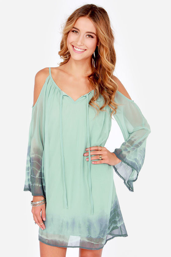 Summer hot chiffon dress - Knits and Mitts - 1