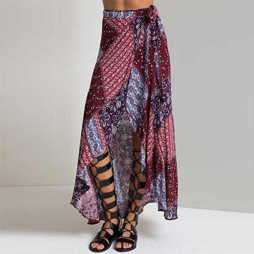 Boho summer beach skirts - Knits and Mitts - 6