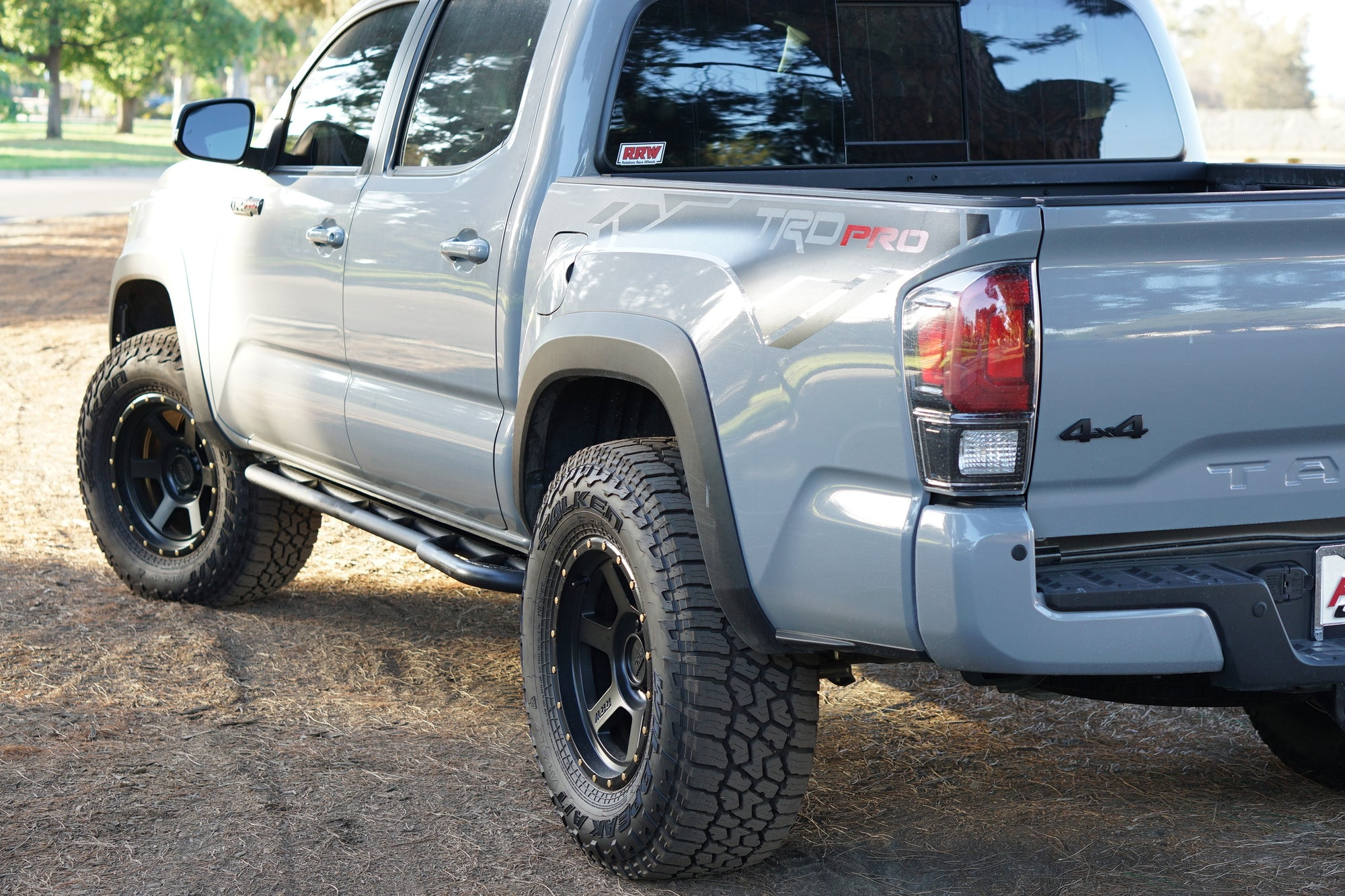 TACOMA TRD PRO: POWERFUL AND PROTECTED