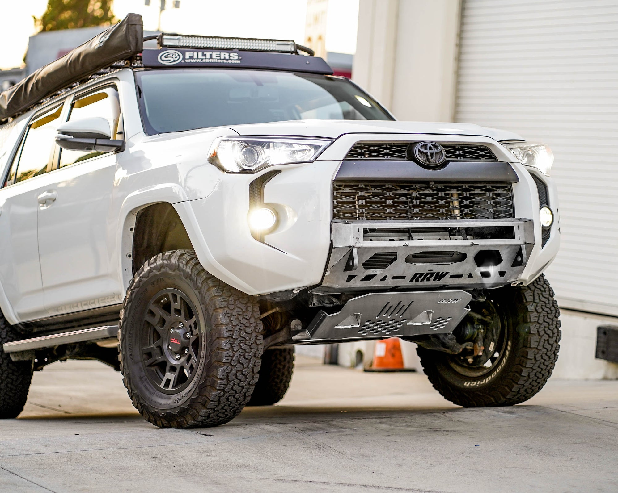 Offroad 4Runner Stealth Front Bumpers and Skid Plates