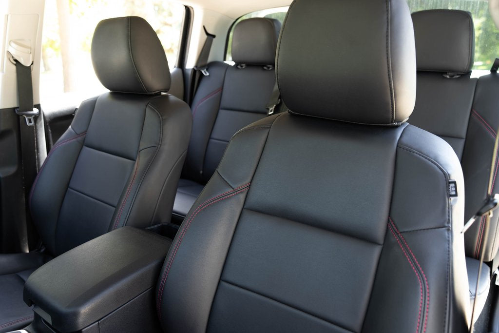 Tacoma OEM-Replacement Leather Seat Covers