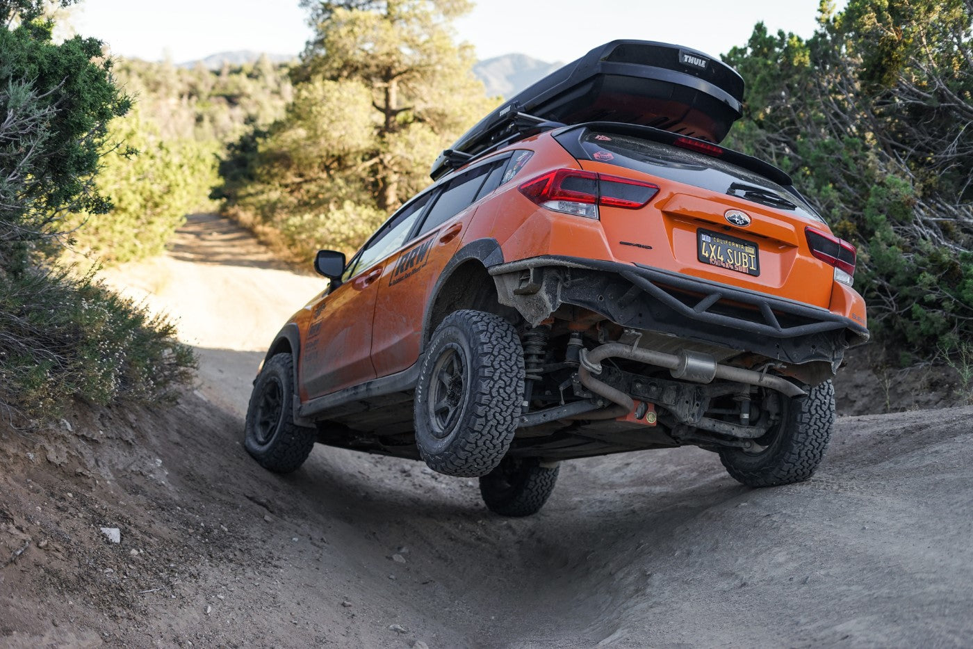 Your Overland Crosstrek's Next Step: Armored Bumpers