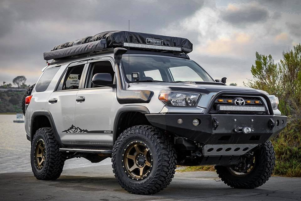 Built For Overland Toyota 4runner On Rr2 V 17x8 5