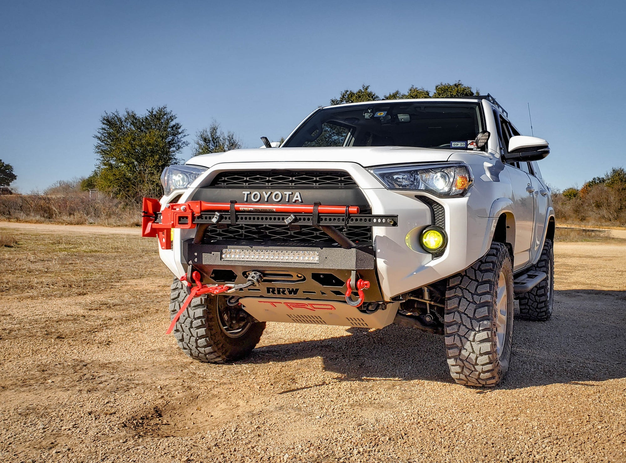 2014 2020 Toyota 4runner Stealth Hybrid Metal Front Winch Bumper Relations Race Wheels