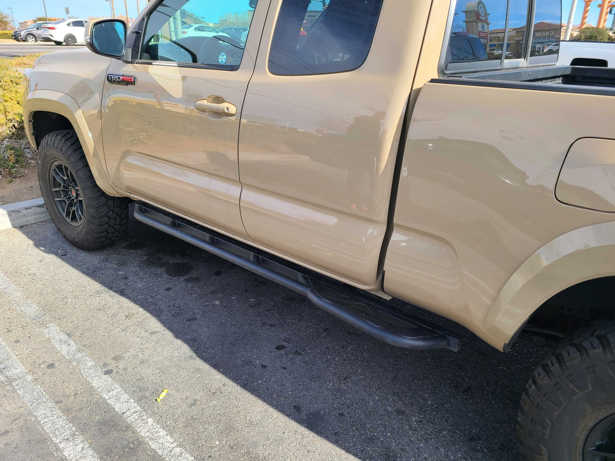 Toyota Tacoma ACCESS cab (3rd Gen, 2016+) | Bolt-on DOM Rock Sliders