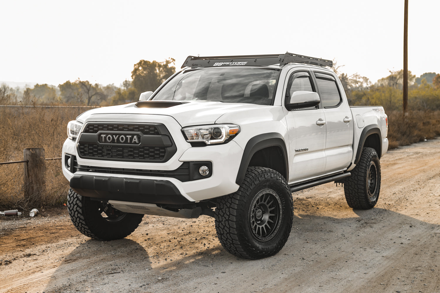 V1 DOM Bolt-on Rock Sliders | Toyota Tacoma DOUBLE cab (3rd Gen 2016+)