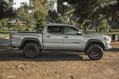 V4 DOM Bolt-on Rock Sliders | Toyota Tacoma DOUBLE cab (3rd gen, 2016+)