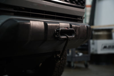 Toyota Tacoma 3rd Gen Hidden Winch Mount Plate for Factory Bumper Cover