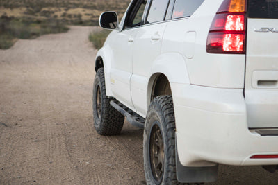 Lexus GX470 Bolt-on V2 Rock Sliders
