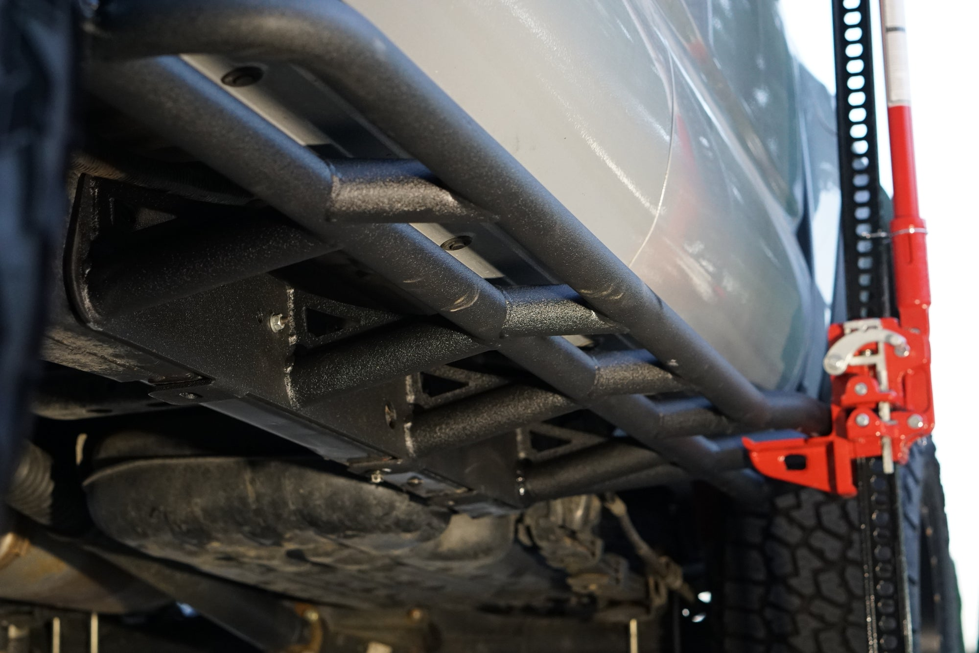 Toyota Tacoma 2016-2020 Bolt-on V1 Rock Sliders (Long Bed)