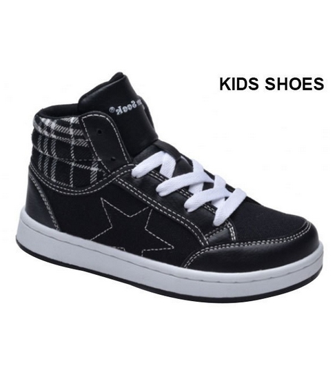Dream Seek Black and White Plaid Sneakers