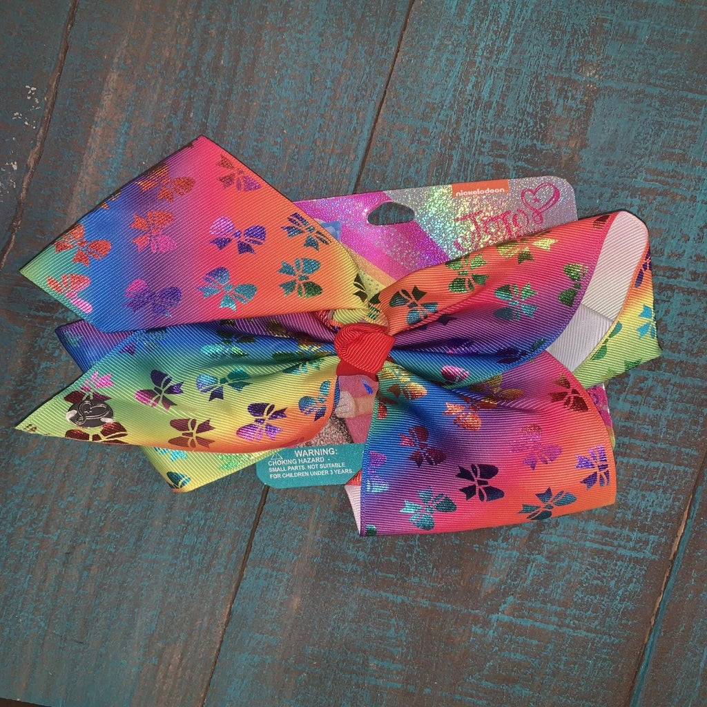 Butterfly Rainbow Bow
