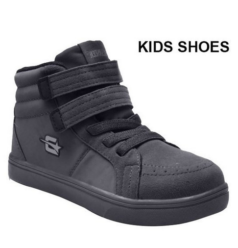 Charcoal Dream Velcro Top Sneakers