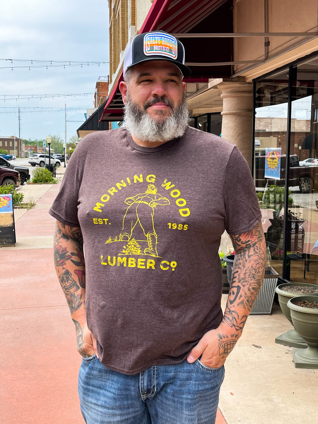 Morning Wood Lumber Company Tee